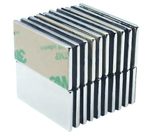 5 Pack 15 Inch Large Neodymium Adhesive Block Magnets Strong Rare Earth Craft