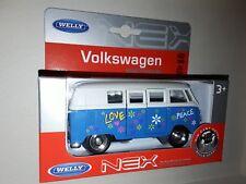 WELLY  Volkswagen 1963 T1 Bus  Series neuf models  Die Cast Metal 1/43