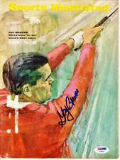 Gay Brewer Signed - Autographed Sports Illustrated Magazine Cover - PSA/DNA COA