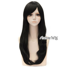 13-Farbe Cosplay Kostüm Anime 70cm Layered Harajuku Fasching Wig Perücke Haar