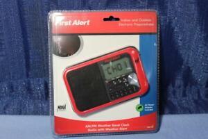 First Alert SFA1100 Emergency Weather Alert Radio AM/FM Clock AC Adapter NOS