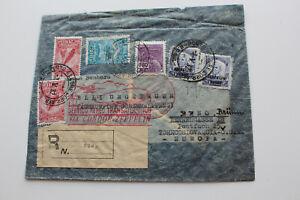 Brief,gel.1932 aus Porto Alegre nach Brünn,via Condor-Zeppelin
