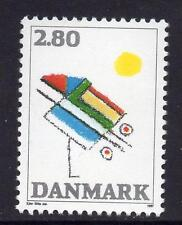 Denmark MNH 1987 Abstract Painting by Ejler Bille