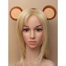 Hair Accessories Unisex Adult / Children Brown Monkey Ears Aliceband