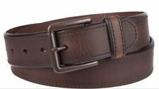 NEW! MEN'S LEVI'S CASUAL LEATHER BELT!  BROWN - SIZES 38 & 40!