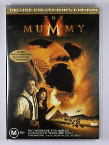 The Mummy DVD Deluxe Collectors Edition FREE POST