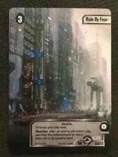 Star Wars LCG: 1x Rule By Fear - Alternate Art Promo