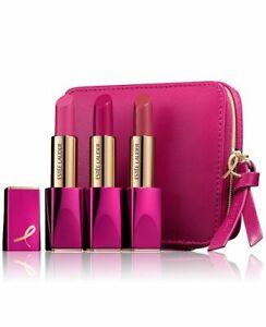 NWB Estée Lauder Pink Perfection Limited Edition Lipstick Set, 3pcs Full Size