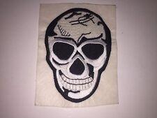 Skull Patch Biker Motircycle Jacket