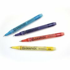 Derwent Graphik Line Painter x 12 Pens