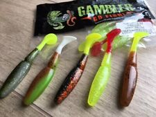 """5x( Mix of col) Gambler go fish THE LITTLE EZ 3.75""""(9.5cm)- made in USA"""