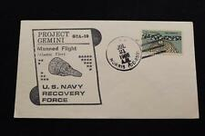 NAVAL SPACE COVER 1966 GEMINI GTA-10 RECOVERY SHIP USS NORRIS (DD-859) (4176)