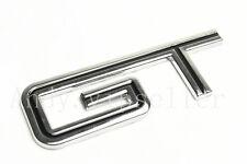 1Pcs Metal GT500 Mustang Black GT Trunk Lid Sticker Badge Emblem Decoration