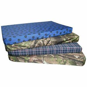 New Memory Foam Orthopedic Dog Bed Mattress Washable Dog Cushion, cage mat bed