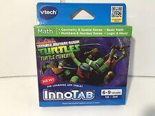 VTECH INNOTAB Nickelodeon Teenage Mutant Ninja Turtles Math Game 6-9 years.