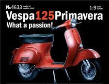 Italeri 1:9 4633 Vespa Primavera 125cc Model Motorcycle Kit