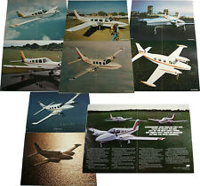 VINTAGE 1980'S PIPER AIRPLANES LOT OF LITHOGRAPHS FROM ADVERTISING AGENCY! RARE