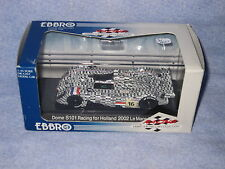 DV6662 EBBRO DOME S101 RACING FOR HOLLAND 24H MANS 2002 #16 Ref 447 1/43