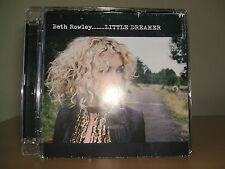 BETH ROWLEY - Little Dreamer CD NEW 2007 Universal