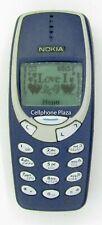Nokia 3310 All Original NHM-5NX - Blue Unlocked Used Cellphone
