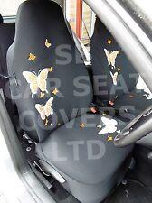 i - SEMI FIT A CITROEN C4 GRAND PICASSO CAR, SEAT CVR, H BACK, ORANGE BUTTERFLY