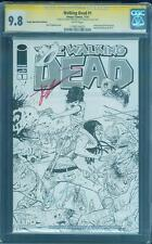 Walking Dead 1 CGC 2X SS 9.8 Scott Dragotta Robert Kirkman Expo Sketch Variant