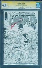 Walking Dead 1 CGC 2X SS 9.8 Scott Dragotta Robert Kirkman Expo Sketch Variant