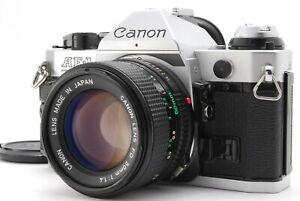 Near MINT/ Canon AE-1 PROGRAM + NEW FD 50mm F1.4 from Japan #1422