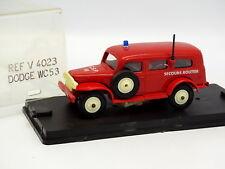 Verem Résine 1/43 - Dodge WC53 Pompiers Secours Routier