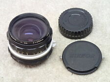 Nikon 28mm f3.5 Vintage Non AI Wide Angle Lens for F, F2, Nikkormat