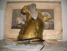 Antique French Military Sappers 6th Corps Helmet circa early 19th Century