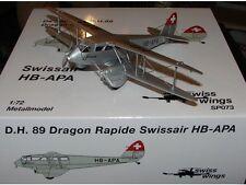 Swissair D.H. 89 Dragon Rapide (HB-APA), SwissWings, 1:72