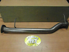 LAND ROVER DISCOVERY 2  TD5   EXHAUST STRAIGHT THROUGH PIPE STAINLESS STEEL