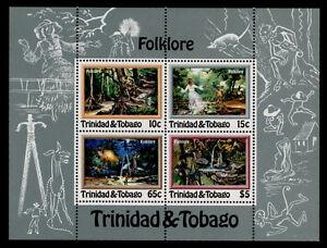 Trinidad & Tobago 370a MNH Folklore, Pa Pa Bois, Animals