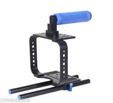 Handle Camera Cage Rig For BMCC BLackmagic Cinema Camera C300 C500 5D3 5D2