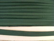 Bias Binding Bottle Green Poly Cotton 12mm  x 30 mts