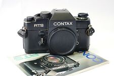 Contax RTS 35mm SLR camera body, works fine, C/Y lens mount
