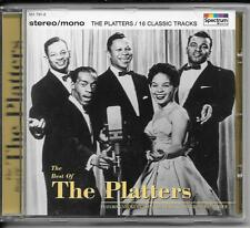"CD The Platters ""The best of"" NEU/New 18 Classics"