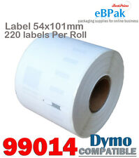 100x 99014 54x101mm 220pcs/roll Thermal Address Label Compatible for DYMO SEIKO