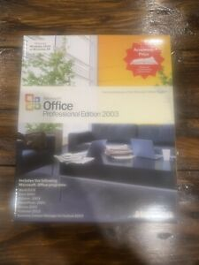 Microsoft Office Professional Edition 2003 Academic Edition CD ROM 2 disc manual