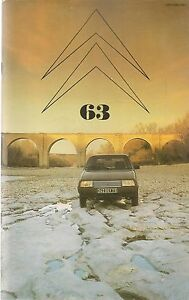 LE DOUBLE CHEVRON 63 1981 CITROEN VISA II CITROEN A 4X4 LA CROISIERE JAUNE 1931