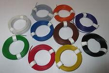 [1m = 0,1195€] Kupfer - Litze  flexibel 18x0,10   10 Ringe a 10 Meter   *NEU*