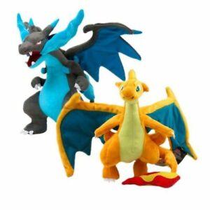 Pokemon Go Charizard Plush Mega Soft Stuffed Animal Dolls Kids Toy Gift 23cm