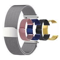 18mm 20mm 22mm Quick Fit Milanese Loop Bracelet Stainless Steel Watch Band Strap