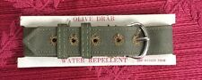 70 Yr OLD WWII World War 2 WATCH Band NOS 5/8-in 1 piece USA Military Issue -B1G