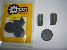 Clapet plein néoprène 17x7 Joint Robinet Minisirius Diamètre 17 mm - Lot de 3