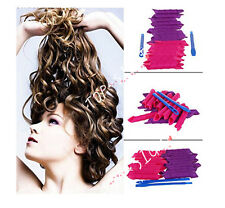 DIY Magic Hair Curler Plastic Styling Hair Rollers Curlers 24pcs+ 2 hook sticks
