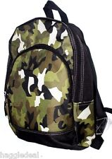 CAMOUFLAGE DESIGN SCHOOL BAG BACKPACK BOYS 14.5