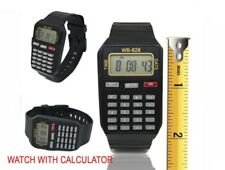 CALCULATOR WRIST WATCH School Date/Time Kids Children Digital Sports XMAS GIFT