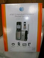 AT and T DECT 6.0 Wireless 2-Handset Landline Cordless Home Phone Answering